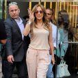 Jennifer Lopez dans les rues New York, le 17 juin 2014.
