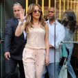 Jennifer Lopez à New York, le 17 juin 2014.