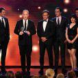 Ryan Murphy, Dante Di Loreto, Jim Parsons et Matt Bomer, Gina Lamar lors de la 4e édition des Critics' Choice Television Awards au Beverly Hilton Hotel de Beverly Hills, Los Angeles, le 19 juin 2014.