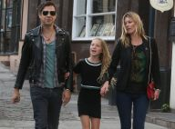 Kate Moss : Balade détente avec sa fille Lila Grace et son mari Jamie Hince