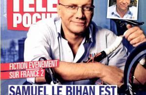Samuel Le Bihan: 'J'ai envie de vieillir avec ma compagne, ma fille et mon fils'