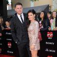 """Channing Tatum et sa femme Jenna Dewan - Avant-première du film """"22 Jump Street"""" à Los Angeles le 10 juin 2014"""
