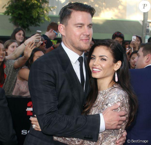 """Channing Tatum et Jenna Dewan - Avant-première du film """"22 Jump Street"""" à Los Angeles le 10 juin 2014"""