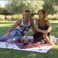 Gaëlle et Jordan dans Les Ch'tis vs les Marseillais, épisode du 25 juin 2014 sur W9.