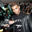 Exclusif - Brahim Zaibat - Vernissage du Pop Up Store Ronnie Fieg x Puma Disc Blaze a Paris, le 15 janvier 2014.