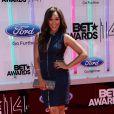 """Tamera Mowry sur les tapis rouge des """"BET Awards"""" à Los Angeles le 29 juin 2014."""