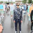 Défilé homme Kenzo printemps-été 2015 au Pont Alexandre III. Paris, le 28 juin 2014.
