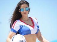 Anaïs Zanotti : Supportrice sexy de l'équipe de France pour le Mondial