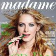 Mélanie Laurent en couverture du magazine Madame Figaro du 5 juillet 2014