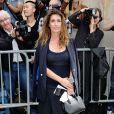 Mademoiselle Agnès arrive au musée Rodin pour assister au défilé haute couture Christian Dior automne-hiver 2014-15. Paris, le 7 juillet 2014.