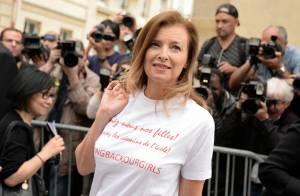 Fashion Week : Valérie Trierweiler, modeuse engagée au défilé Dior