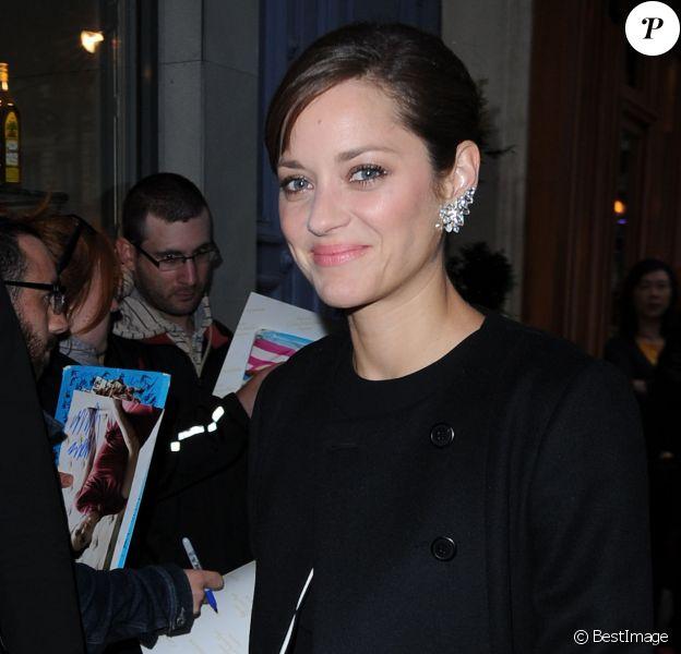 Marion Cotillard à l'after-party Dior à Paris, le 7 juillet 2014.