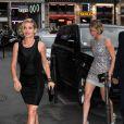 Elsa Pataky et Jennifer Lawrence à l'after-party Dior à Paris, le 7 juillet 2014.