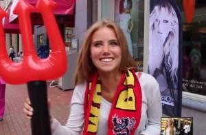 Axelle Despiegelaere : Inconnue, la jolie supportrice belge enflamme la Toile