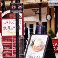 Le prince Harry à la sortie d'un spa dans Kensington le 8 juillet 2014