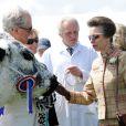 La princesse Anne au Great Yorkshire Show, le 9 juillet 2014