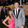 Lea Michele et Cory Monteith aux Screen Actors Guild (SAG) Awards 2013.
