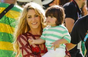 Mondial 2014 : Shakira électrise la finale devant son fils Milan et Gerard Piqué