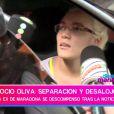 Rocio Oliva à sa sortie de l'hôpital à Buenos Aires - mai 2014
