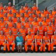 La reine Elizabeth II à Reading le 17 juillet 2014 pour l'inauguration de la gare, réouverte après des travaux de rénovation.
