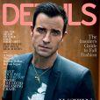 Couverture du magazine Details, avec Justin Theroux.