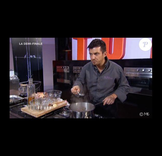 Eric Guérin dans Top Chef sur M6, en mars 2014.