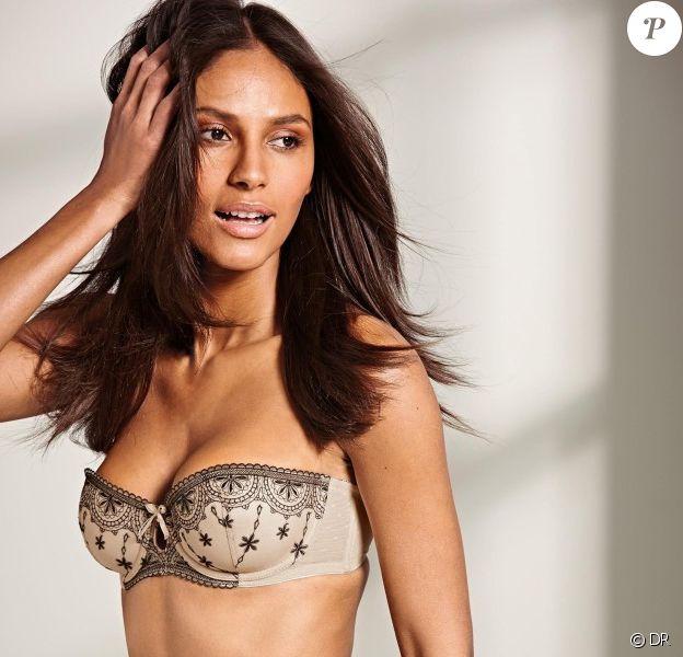 Emanuela de Paula toujours aussi mignonne pour la marque de lingerie Next, été 2014.