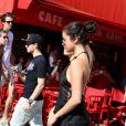 Selena Gomez en shopping à Saint-Tropez, le 23 juillet 2014.