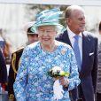 La reine Elizabeth II aux Jeux du Commonwealth à Glasgow le 24 juillet 2014, premier jour de compétition.