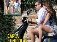 Nicolas Sarkozy : Avec Carla et Giulia, vacances sportives et idylliques