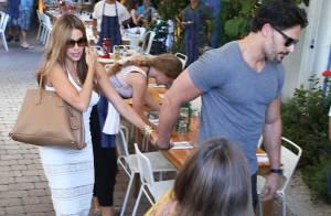 Sofia Vergara et son beau Joe Manganiello : Les amoureux se ne lâchent plus