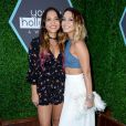 Stella Hudgens et Vanessa Hudgens lors des Young Hollywood Awards à Los Angeles le 27 juillet 2014