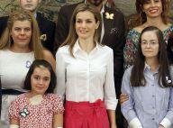 Letizia d'Espagne : Chic au palais, dernière ligne droite avant les vacances