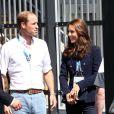 Le prince William et Kate Middleton ainsi que le prince Harry se sont rejoints aux XXe Jeux du Commonwealth le 28 juillet 2014