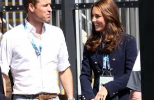 Kate Middleton en surchauffe avec William et Harry aux Jeux du Commonwealth