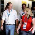 Le prince William et le prince Harry le 28 juillet 2014 aux XXe Jeux du Commonwealth, à Glasgow.