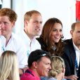 Kate Middleton, le prince William, le prince Harry et le prince Edward ont notamment assisté au combat du boxeur anglais Fitzgerald le 28 juillet 2014 aux XXe Jeux du Commonwealth, à Glasgow.