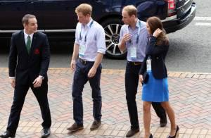 Kate Middleton bondit de joie, William et Harry se défient aux Jeux à Glasgow