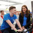 Kate Middleton lors d'un événement de SportsAid, dont elle est la marraine, à la Home Nation House en marge des Jeux du Commonwealth, le 29 juillet 2014 à Glasgow.
