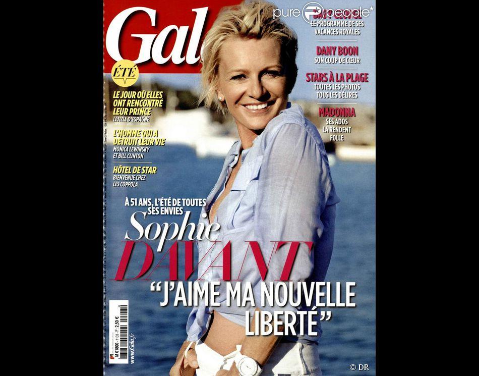 Sophie Davant en couverture de Gala