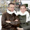 Patrice Leconte et sa fille Alice à Paris le 18 novembre 2006.