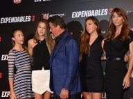 Sylvester Stallone : Un Expendable amoureux face à ses trois superbes filles