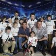 Hayden Panettier, alors au tout début de sa grossesse, accompagnait le 2 mai 2014 son fiancé le boxeur Wladimir Klitschko à Kiev pour l'inauguration d'une exposition consacrée aux frères Vitali et Wladimir Klitschko