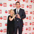 """Hayden Panettiere et son compagnon Wladimir Klitschko - Gala de charité """"un coeur pour les enfants"""" à Berlin en Allemagne le 7 décembre 2013."""