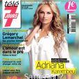 Adriana Karembeu en couverture du magazine Télé 7 Jours, en kiosques le 11 août.