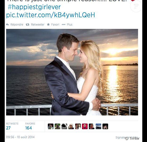 Sébastien Ogier et Andrea Kaiser se sont mariés en secret au cours de l'été 2014.