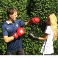 Sébastien Ogier et Andrea Kaiser se sont affrontés en parallèle de la Coupe du monde. Fous amoureux, ils se sont surtout mariés en secret au cours de l'été 2014.