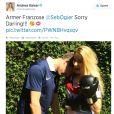 Sébastien Ogier a perdu contre Andrea Kaiser, adversaires en parallèle de la Coupe du monde. Fous amoureux, ils se sont surtout mariés en secret au cours de l'été 2014.