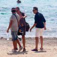 Jamie Hince en vacances à Formentera. Le 12 août 2014.