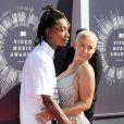Wiz Khalifa et Amber Rose à la cérémonie des MTV Video Music Awards au Forum à Inglewood, Los Angeles, le 24 août 2014.